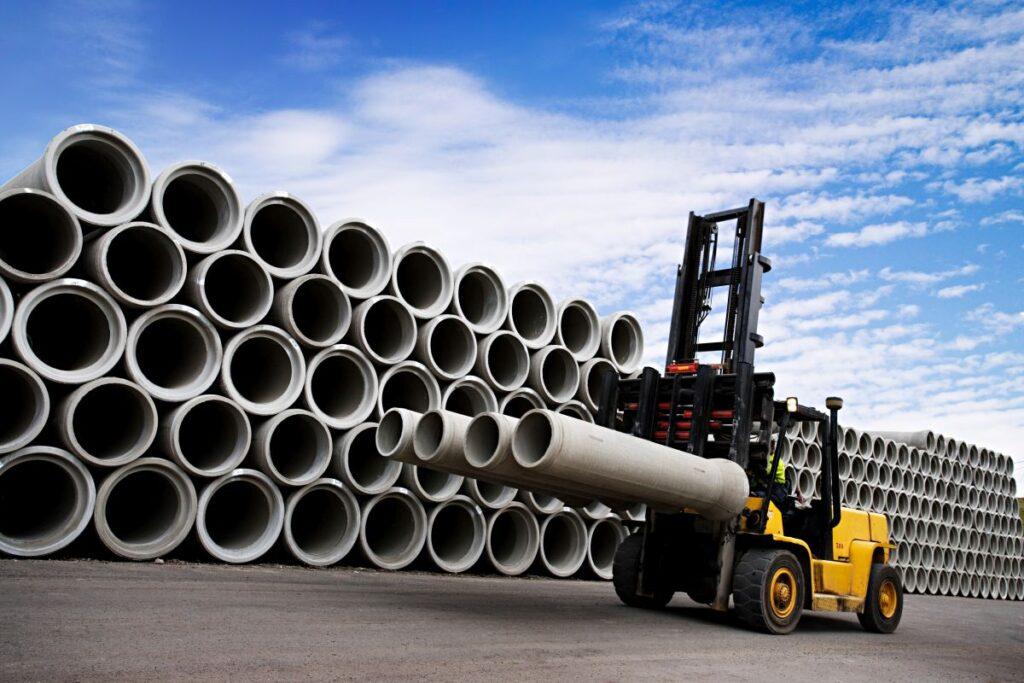 Jak przeprowadzić transport wyrobów betonowych?